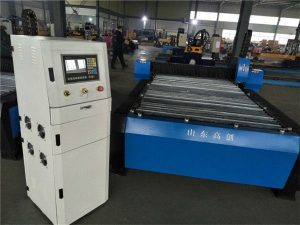 1325 hoge kwaliteit g code cnc plasmasnijmachine