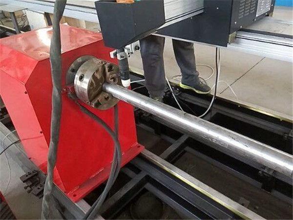2017 Nieuwe draagbare type plasma metalen pijpsnijmachine, CNC metalen buis snijmachine
