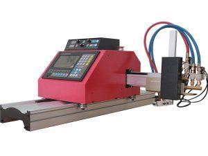 hete verkoop draagbare brug cnc vlam plasma snijmachine met thc voor staal