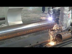 CNC 3-assige plasma vlambuis roterende buis stalen snijmachine