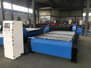 China 1325 1530 goedkope fakkel hoogte controller plasma huayuan metaal staal snijden cnc plasma snijmachine