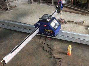 china goedkope 1500 * 2500mm metalen draagbare cnc plasma snijmachine ce