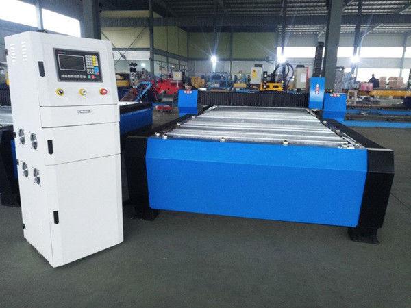 China CNC-plasmasnijmachine met hyper 125a voor dik facultatief metaalblad 65a 85a 200a