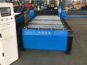 China Plasma die van Huayuan 100A CNC Machine 10mm Plaatmetaal snijden