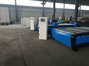 cnc draagbare plasma vlam snijmachine tafel / bank desktop / hardware cnc roestvrij staal snijmachine