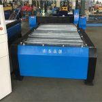 zware cnc-buis buisplaat plasmasnijmachine voor roestvrij staal / koolstofstaal / ijzer