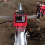 draagbare cnc vlam / mini metalen draagbare cnc plasmasnijmachines van hoge kwaliteit