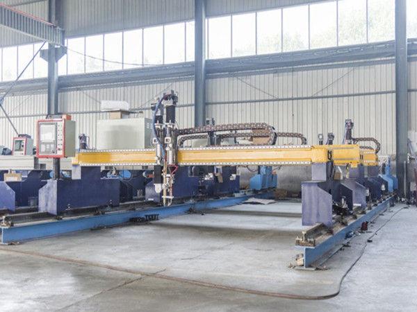 Intelligent Gantry type cnc metalen plaat snijmachine automatische plasma- en vlamsnijmachines