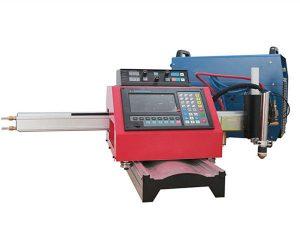 draagbare cnc plasmasnijmachine automatische gas snijmachine stalen baan