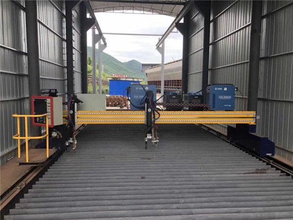 Precisiecnc Plasmasnijmachine Nauwkeurige 13000mm met Servomotor