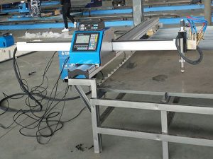 Kleine snijder draagbare cnc plasma gas snijmachine