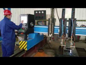 zware portaal cnc plasmasnijmachine metaalproductie geautomatiseerd