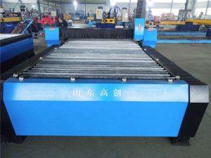 cnc plasmasnijden metalen platen kleine machines om geld te verdienen / plasmasnijmachine cnc