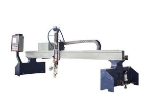 hoog rendement brug cnc plasma snijmachine / cnc vlam snijmachine