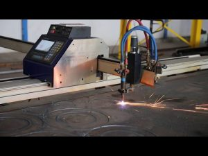 low-cost grantry type draagbare mini cnc plasmasnijmachine