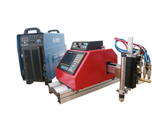 draagbare cnc-snijmachine voor plasma, gas, vlammen en zuurstofmetalen platen met THC