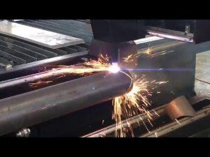 verkoop cnc plasmasnijmachine met roterende, plasmasnijder voor metalen buis