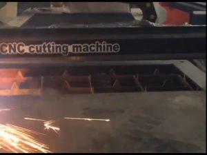 Handel zekerheid goedkope prijs draagbare snijder cnc plasma snijmachine voor roestvrij staal matel iro